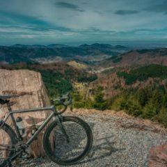Tolle Aussicht mit Blick auf den Schwarzwald in der Nähe von Kaltenbronn